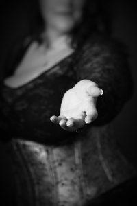 reichende Hand